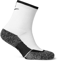 Nike Tennis Elite Cushioned Dri Fit Socks White