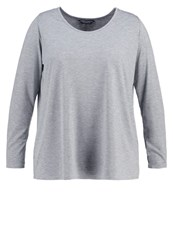 Dorothy Perkins Curve Long Sleeved Top Grey
