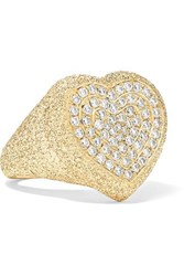 Carolina Bucci 18 Karat Gold Diamond Ring 7