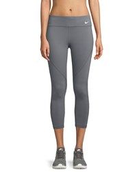 Nike Epic Lux Cropped Running Tights Dark Gray