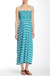 Michael Stars Convertible Maxi Skirt Green