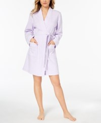 Charter Club Knit Robe Created For Macy's Light Amethyst