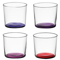 Lsa International Coro Assorted Tumblers Set Of 4 Berry