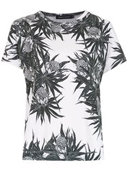 Andrea Marques Printed T Shirt White