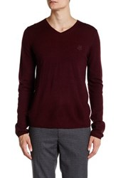 Zadig And Voltaire Peter Long Sleeve Pullover Red