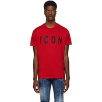 Dsquared2 Red Icon T Shirt