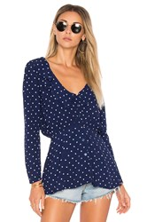 Auguste Lilly Shirt Classic Polka Dot Blue