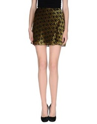 Antipodium Mini Skirts Ocher