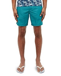 Ted Baker Oxford Swim Shorts Teal
