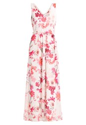 Wallis Petite Pressed Flower Maxi Dress Ivory Off White