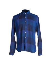 Oliver Spencer Shirts Shirts Men Bright Blue