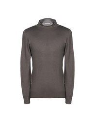 Gran Sasso Turtlenecks Lead