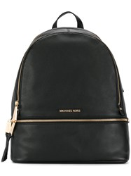 Michael Michael Kors Rhea Large Backpack Leather Black