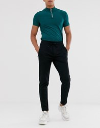 Calvin Klein Jeans Insititutional Joggers In Black