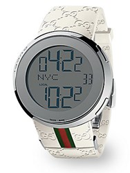 Gucci I Collection White Digital Watch No Color