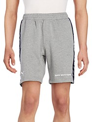 Puma Bmw Motorsport Sweat Shorts Grey