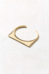Urban Outfitters Flat Top Bracelet Gold