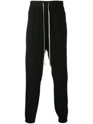 Rick Owens Larry Track Pants Black