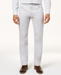 Inc International Concepts Men's Deep Black Stretch Pants Created For Macy's Silver Stream