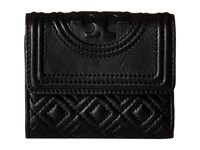 Tory Burch Fleming Mini Flap Wallet Black Wallet Handbags