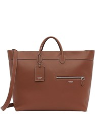 Burberry Grainy Leather Top Handle Holdall 60