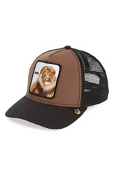 Goorin Bros. Men's Goorin Brothers 'Animal Farm King' Trucker Hat Brown