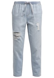 Only Onljune Relaxed Fit Jeans Light Blue Denim