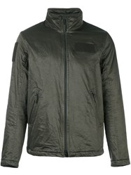 Aspesi Zip Up Sport Jacket Green