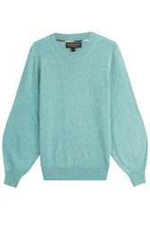 Burberry London Cashmere Pullover Turquoise