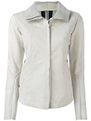Isaac Sellam Experience 'Imprudente Crasse Pouille' Jacket Nude Neutrals