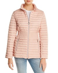 Laundry By Shelli Segal Packable Puffer Coat Salmon
