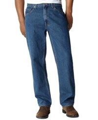 Levi's Big And Tall 550 Relaxed Fit Jeans Dark Stonewash