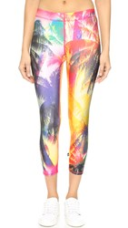 Zara Terez Neon Palms Performance Leggings
