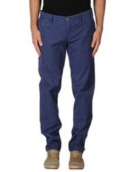 Maison Clochard Casual Pants Blue