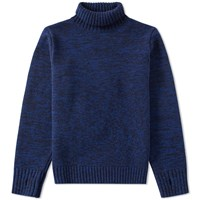 Oliver Spencer Zaria Roll Neck Knit Blue