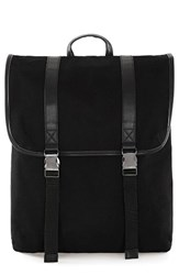 Topman Men's Canvas Backpack