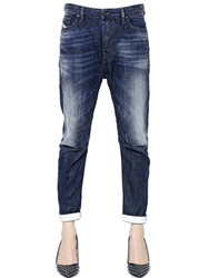 Diesel Eazee Boyfriend Fit Denim Jeans Blue