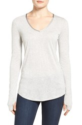 Nic Zoe Women's Coveted Layer Top Heather Grey