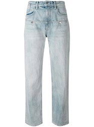 Helmut Lang Oversized Boyfriend Jeans Women Cotton 29 Blue