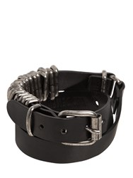 Ann Demeulemeester Wrap Around Leather Bracelet