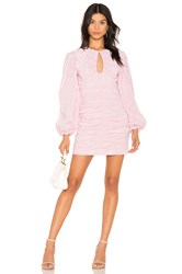C Meo Collective Close Enough Long Sleeve Dress White
