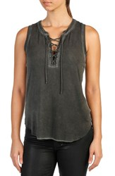 Paige Women's Braelynn Lace Up Tank