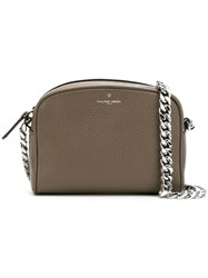 Philippe Model Embossed Logo Shoulder Bag Neutrals