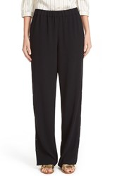 Tibi Women's Side Snap Wide Leg Pants