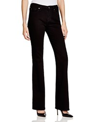 7 For All Mankind Kimmie Bootcut Jeans In Washed Overdye Black