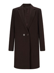 Jigsaw Matschinsky Narrow Db Coat Cocoa