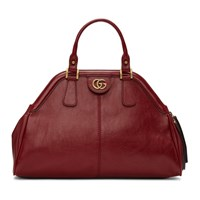 Gucci Red Small Linea Top Handle Bag