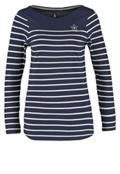 Gaastra Fawn Long Sleeved Top Navy Dark Blue