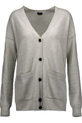 Joseph Wool Cardigan Light Gray