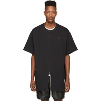 Nike Black Fear Of God Edition Warm Up Top